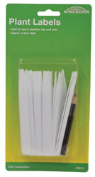 125 mm Plant Labels and Marker Pen Packet of 25