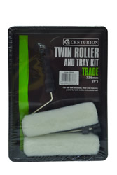 225 x 38 mm 9 inch x 1 1 / 2 inch Twin Roller and Tray Kit