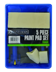 5 Part Paint Pad Set