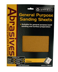 5 Assorted Sandpaper Packet