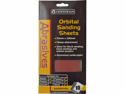 Assorted Orbital Sand Sheets large Packet of 10