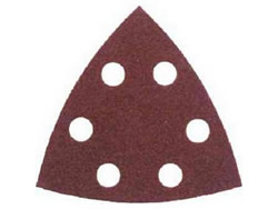90 mm Fine Hook and Loop Sanding Triangles Packet of 5
