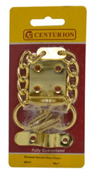 40 mm Electro Brass Narrow Door Chain