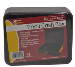 200 x 90 x 190 mm Small Cash Box