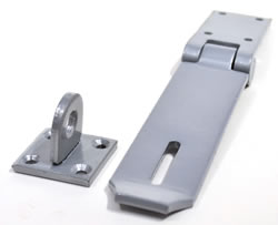 5 1 / 2 inch x 1 1 / 2 inch Safety Type Hasp and Staple