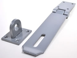 7 inch x 2 inch Safety Type High Security Hasp and Staple