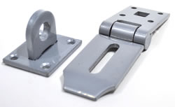 8 inch x 2 inch Open Type High Security Hasp and Staple