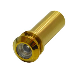 160 degree Polished Brass Door Viewer