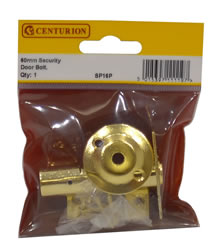 60 mm 2 3 / 8 inch Polished Brass Security Door Rack Bolt