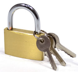 40 mm Brass Padlock