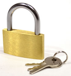 50 mm Brass Padlock