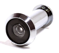 180 degree Chrome Plated Door Viewer