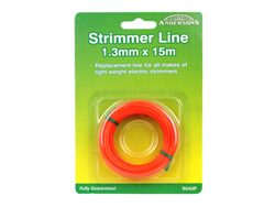1.3 mm 15m Spool Strimmer Line