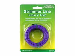 2 mm x 15 metres Spool Strimmer Line