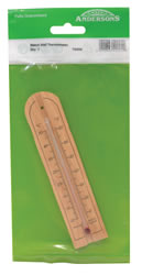 Beech Wall Thermometer