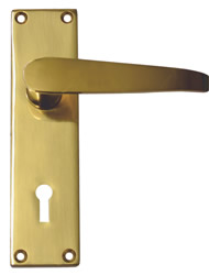 140 mm Victorian Straight Lever Lock Handle