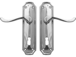 Polished Chrome Firenze Suite Lever Lock