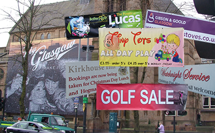 colour PVC banner printing in the UK