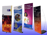 roll up exhibition stand printers