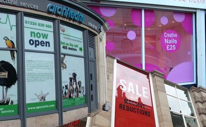 window display companies Glasgow