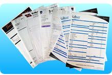 low-cost printers of invoice pads