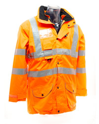 Yoko Hi Vis Multi-Function 7-In-1 Jacket