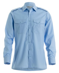Kustom Kit Mens Long Sleeve Pilot Shirt