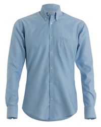 Kustom Kit Long Sleeve Slim fit Oxford Shirt