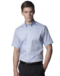 Kustom Kit Tailored Fit Oxford Short Sleeve Shirt