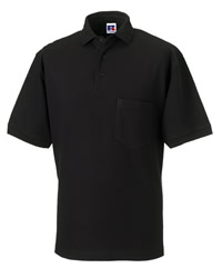 Russell Mens Heavy Duty Polo Shirt