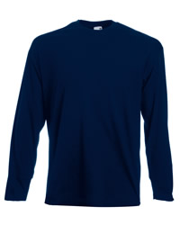 Fruit Of The Loom Value Long Sleeve T-shirt