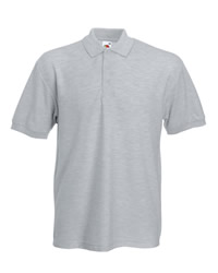 Fruit of the Loom 65 35 Heavyweight Pique Polo Shirt