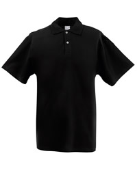 DISCONTINUED Fruit Of The Loom Lady Fit Polo Shirt