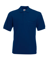 Fruit of the Loom 65 35 Pocket Pique Polo Shirt