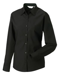 Russell Collection Lady Long Sleeve Shirt