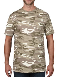 Anvil Adult Heavyweigt Camouflage T-Shirt