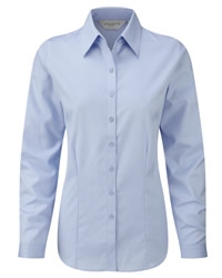 Russell Colelction Ladies Herringbone Shirt