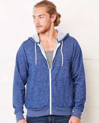Canvas Unisex Zip-Up Hoodie