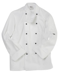 Dennys Lightweight Long Sleeve Chefs Jacket