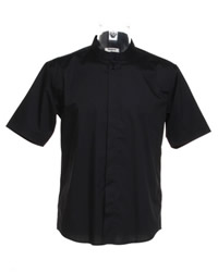 Bargear Mens Mandarin Collar Shirt