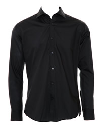 Kustom Kit Slim Fit Long Sleeve Business Shirt