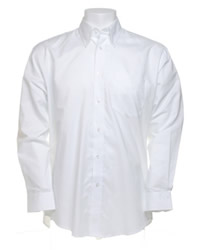 Kustom Kit Long Sleeve Oxford Shirt