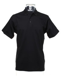 DISCONTINUED Kustom Kit Tipped Pique Polo Shirt