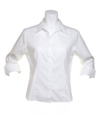 Kustom Kit Ladies Three Quarter Sleeve Shirt
