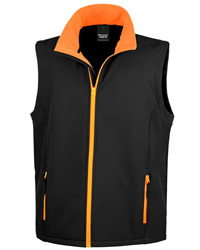Result Core Mens Printable Soft Shell Body Warmer