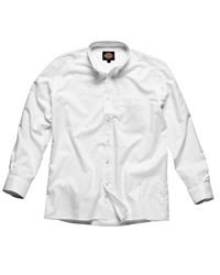 Dickies Long Sleeve Cott/Poly Oxford Shirt