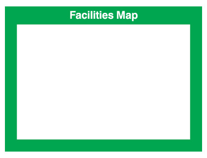 240 x 327 mm facilities map