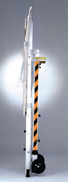 Work platforms - telescopic safety platform 4 6 tread