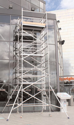 Work platforms - Access tower 1.8m x 0.85m platform height 2 metre