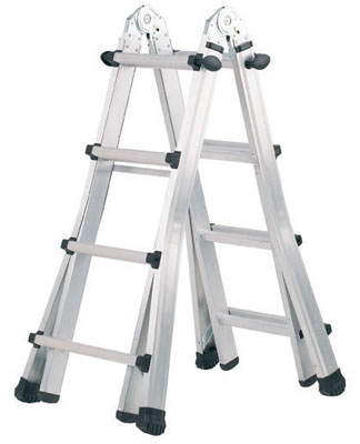 Step ladders - telescopic combination ladder (4 x 4)